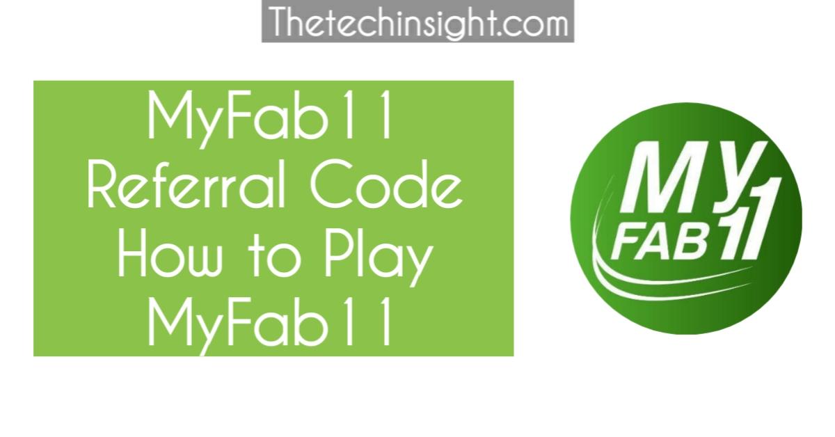 myfab11-referral-code-fantasy-app